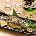 料理メニュー写真鮎の佐渡塩焼き