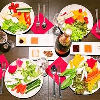美味しく、オシャレに、産地直送のお料理を楽しめる♪