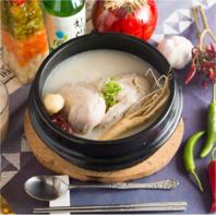 1/2ハーフサイズサムゲタン(参鶏湯)