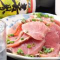 料理メニュー写真鹿児島産黒豚のたたき