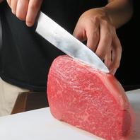 素材選びから…厳選したブランド牛『佐賀牛』使用。
