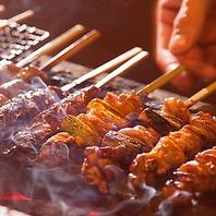 宮崎の至宝『霧島鶏』を炭火で焼く肉汁したたる絶品焼鳥