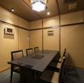 個室もございます。ご家族・お仲間の集まりなどのシーンに合わせてお使いいただけます。※店舗により部屋の配置・席数が異なる場合がございます