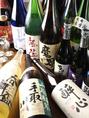魚料理には日本酒!ということで、日本全国津々浦々の銘柄を取り寄せています。酎ハイ、梅酒など軽めのお酒や果実酒を中心に新酒も登場!(麦・芋)
