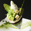 料理メニュー写真【ティータイム限定】抹茶のパフェ