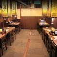 【<27名様迄>宴会向け個室】会社仲間との飲み会・打ち上げ等におすすめのテーブル個室を完備しています。