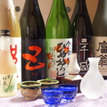 料理メニュー写真京都 伏見の地酒を中心に、全国の地酒を取りそろえ