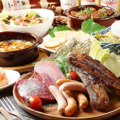 個室肉バル Trattoria シバザキ 八重洲店のコース写真