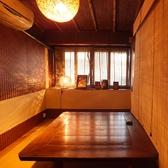 2階の5名様の空間は完全個室。女子会や少人数の宴会に◎