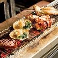 新鮮魚介を炭火焼で♪磯の香りとジューシーな味わいを是非ご堪能ください♪