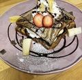 料理メニュー写真チョコバナナハニートースト