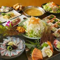 季節に合わせた料理長渾身の料理をご用意!