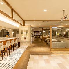 Cafe&Restaurant オスピターレ Ospitare 静岡マルイ店の雰囲気1