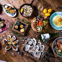 ☆ワクワクする牡蠣料理が満載☆