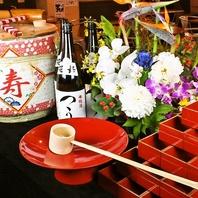 日本酒1斗樽を宴会でプレゼント