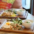 【ランチメニューがリニューアル!!】定番の台湾麺他、カフェプレートが4種類!ご飯大盛無料で満足度は間違いなし!!セットに魯肉飯も加わりどれにしようかと楽しめます♪早出し500円(税別)もありますよ☆
