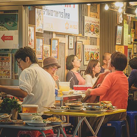 パクチー タイ屋台999 カオカオカオ 新橋店|店舗イメージ2