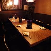 広々テーブル席は4名様~!※写真は系列店、店内写真はイメージ写真を使用しています。