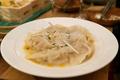 料理メニュー写真楯野川香る白湯風スープ餃子