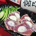 料理メニュー写真カツオ潮タタキ