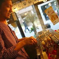 国分寺徒歩2分 串焼きは食材約30種から自分で目利きOK!