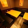 最大6名様までご利用できるボックス席もご準備しております◎~水炊き・焼鳥 とりいちず 鷺沼店~☆鷺沼 居酒屋 焼鳥 女子会 宴会