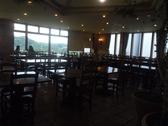 丘の上のビアレストランの雰囲気2