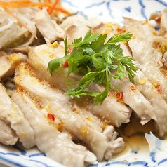 料理メニュー写真蒸し鶏レモンソース ★★☆