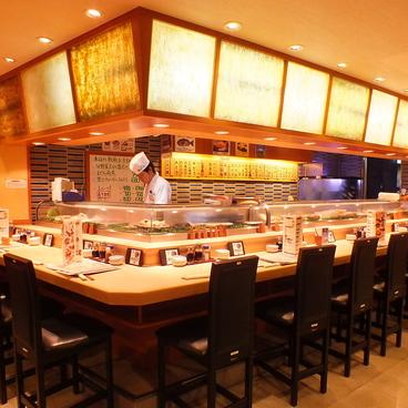 沼津 魚がし鮨 横浜 ランドマークプラザの雰囲気1