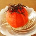 料理メニュー写真煎り酒仕立てのトマト塩昆布サラダ