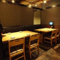 戸塚駅徒歩2分、落ち着いた雰囲気の店内。