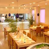 1Fのオープンキッチンで活気のあるお席!大・小ご宴会、大人数でのご家族様、小さなお子様連れも安心です(最大30名様程度)