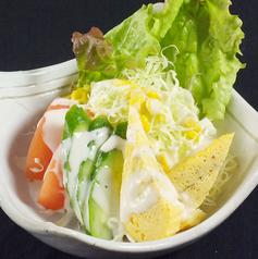 料理メニュー写真お手ごろサラダ/トマトスライス
