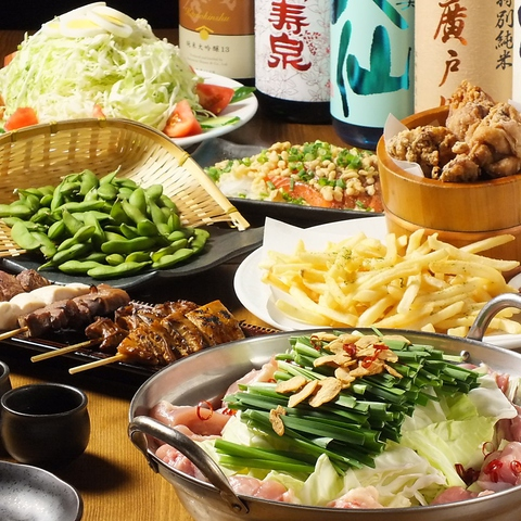 炭火焼きを中心に日本酒や焼酎に合うメニューが豊富。女性にも男性にも喜ばれるお店。