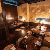 【12名様:個室】心置きなくゆったりと寛げる空間で、旬の食材を使用したバル料理をご堪能ください。