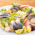 料理メニュー写真SABAカルテット盛り合わせ