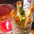 料理メニュー写真チーズスティックフライ(ストロベリーソース&ソルト)