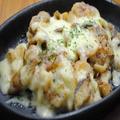 料理メニュー写真帆立ときのこのマヨチーズ焼き♪