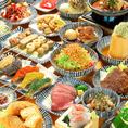 【店仕込み・こだわりメニュー充実】店仕込みの当店名物「肉豆冨」は勿論、新鮮な旬の海鮮や低温調理で仕上げた肉料理など、素材や調理法にこだわる絶品料理の数々。お好きなお酒とご一緒にお楽しみください。女子会・食事会にも嬉しい食べ飲み放題もご用意しております♪♪
