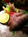 料理メニュー写真シャコのルイベ