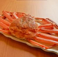 北陸越前の新鮮な魚介類と食材を使用したお料理