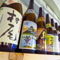 日本酒、焼酎も充実!