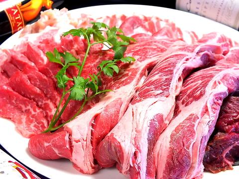 〈牛焼肉〉120分食べ放題42品コース1980円※LO90分