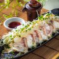 料理メニュー写真〆鯖炙り