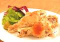 料理メニュー写真ダントツの一番人気!美桜鶏手羽元のコンフィ