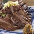 寧々家自慢の肉メニュー!仙台名物の厚みのある牛タン炙りや牛ハラミのグリル、伊達鶏のグリルや厚切りベーコンの炙りなどなど、ガッツリ大満足のメニューをご堪能ください!