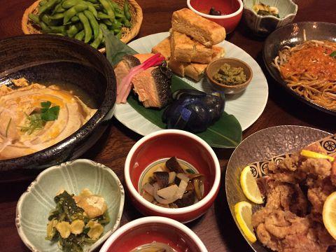 平日限定 新潟郷土料理コース(2時間飲み放題付き)