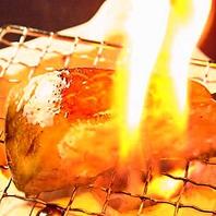 元祖!炭焼きフォアグラステーキ串~道産豚肉巻き~