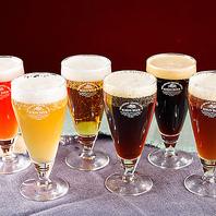 【21種から日替わり4種のクラフトビール♪】