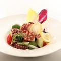 料理メニュー写真たことオリーブ・セロリのマリネ